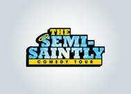 The Semi-Saintly Comedy Tour Logo - Entry #64