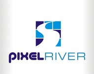 Pixel River Logo - Online Marketing Agency - Entry #178