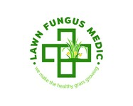 Lawn Fungus Medic Logo - Entry #160