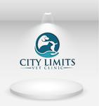 City Limits Vet Clinic Logo - Entry #258
