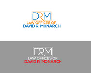 Law Offices of David R. Monarch Logo - Entry #58