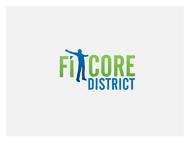 FitCore District Logo - Entry #19