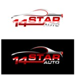 14 Star Auto Logo - Entry #9