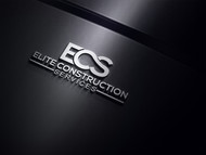 Elite Construction Services or ECS Logo - Entry #177