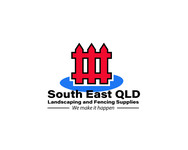 South East Qld Landscaping and Fencing Supplies Logo - Entry #95