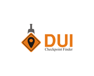 DUI Checkpoint Finder Logo - Entry #66