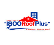 1-800-Roof-Plus Logo - Entry #63