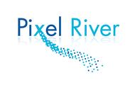 Pixel River Logo - Online Marketing Agency - Entry #27