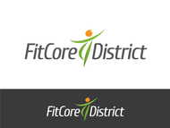 FitCore District Logo - Entry #184
