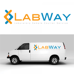 Laboratory Sample Courier Service Logo - Entry #50