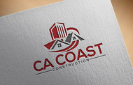 CA Coast Construction Logo - Entry #5