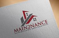 MAIN2NANCE BUILDING SERVICES Logo - Entry #76