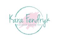 Kara Fendryk Makeup Artistry Logo - Entry #23