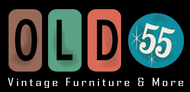 """""""OLD 55"""" - mid-century vintage furniture and wares store Logo - Entry #205"""
