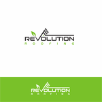 Revolution Roofing Logo - Entry #256