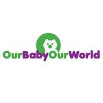 Logo for our Baby product store - Our Baby Our World - Entry #64