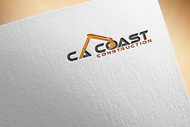 CA Coast Construction Logo - Entry #204