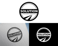 Solution Trailer Leasing Logo - Entry #188