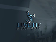 Live Fit Stay Safe Logo - Entry #23