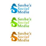 Sasha's Social Media Logo - Entry #148
