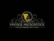 Vintage Microstock Logo - Entry #97