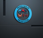Rock Solid Seafood Logo - Entry #180
