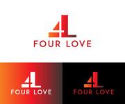 Four love Logo - Entry #50