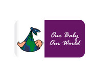 Logo for our Baby product store - Our Baby Our World - Entry #26