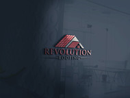 Revolution Roofing Logo - Entry #576