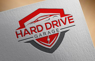 Hard drive garage Logo - Entry #131