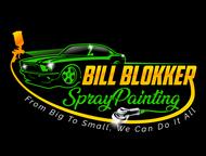 Bill Blokker Spraypainting Logo - Entry #35