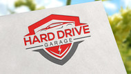 Hard drive garage Logo - Entry #127