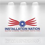 Installation Nation Logo - Entry #142