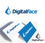 Digital Face Logo - Entry #4