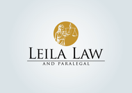 Leila Law Logo - Entry #29