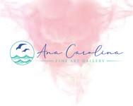 Ana Carolina Fine Art Gallery Logo - Entry #80