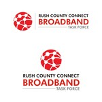 Rush County Connect Broadband Task Force Logo - Entry #97