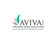 AVIVA Glow - Organic Spray Tan & Lash Logo - Entry #16