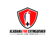 Acadiana Fire Extinguisher Sales and Service Logo - Entry #304