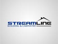 STREAMLINE building & carpentry Logo - Entry #42