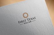 First Texas Solar Logo - Entry #10