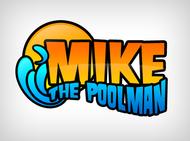Mike the Poolman  Logo - Entry #99