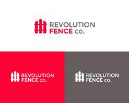 Revolution Fence Co. Logo - Entry #231