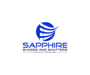 Sapphire Shades and Shutters Logo - Entry #143