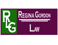 Regina Gordon Law Office  Logo - Entry #22