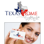 Texas Home Genie Logo - Entry #4