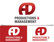 Corporate Logo Design 'AD Productions & Management' - Entry #24