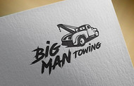 Big Man Towing Logo - Entry #47