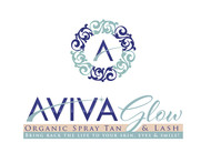 AVIVA Glow - Organic Spray Tan & Lash Logo - Entry #69