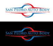 San Pedro Auto Body Logo - Entry #32